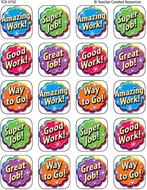 Good work stickers 120 stks