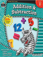 Ready set learn grade 1 addition &  subtraction
