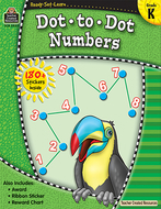 Ready set learn dot to dot numbers