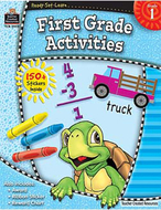 Ready set learn first grade  activities