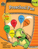 Ready set learn preschool fun gr pk