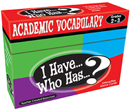 I have who has gr 2-3 academic  vocabulary games