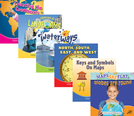 Little world geography books set of  all 6