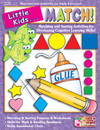 Little kids can match ages 3-6