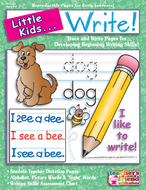 Little kids can write ages 3-6