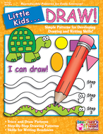Little kids can draw ages 3-6