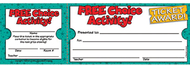 Free choice activity ticket awards