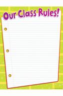 Class rules chart gr pk-5
