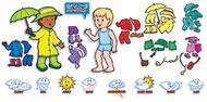 Weather kids bb set