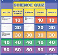 Science class quiz gr 2-4 pocket  chart add ons