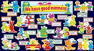 Good manners monsters mini bb set