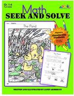 Math seek and solve book