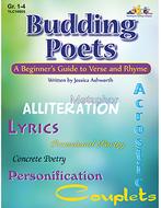 Budding poets book