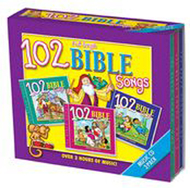 102 bible songs 3-cd set