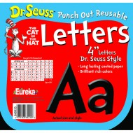 Dr seuss punch out deco letters blk