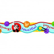 Mickey mouse clubhouse i think i  can extra wide die cut deco trim