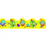 Dr seuss yellow extra wide die cut  deco trim