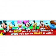 Mickey friendship classroom banner