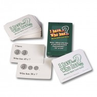 Money adding coins i have who has  mental math card game
