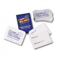 Add subtraction basic fact level i  have who has mental math card game