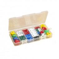 Classroom dice set 56 pcs