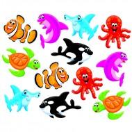 Sea buddies mini accents variety pk