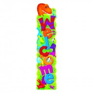Welcome dino-mite pals quotable  expressions banner 5ft