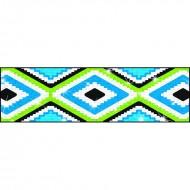 Aztec blue sparkle plus bolder  borders