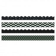 Black & white border variety pack