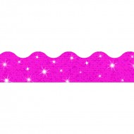 Hot pink terrific trimmers sparkle