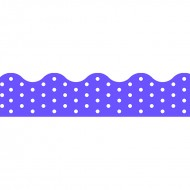 Polka dots purple terrific trimmers