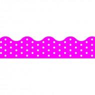 Polka dots pink terrific trimmers