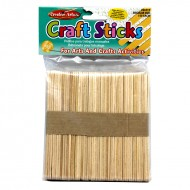 Natural craft sticks 150 pk