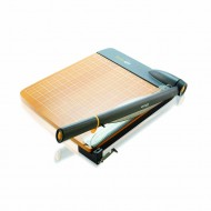 Westcott trimair titanium wood 12in  guillotine paper trimmer mircroban