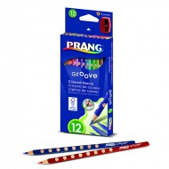 Prang groove colored pencils 12 ct