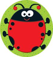 Ladybug two sided decorations