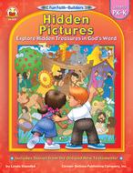 Hidden pictures gr pk-k book