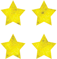 Chart seals stars gold foil 810/pk  acid & lignin free
