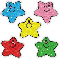 Dazzle stickers stars multi 75-pk  acid & lignin free