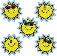 Dazzle stickers suns 75-pk acid &  lignin free