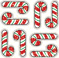Dazzle stickers candy canes 75-pk  acid & lignin free