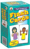 Flash cards sign language