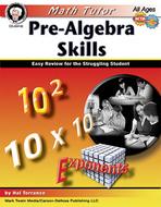 Math tutor pre algebra