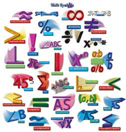 Math symbols punch-outs bb sets  math 4-12