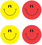 Smiley faces multicolor