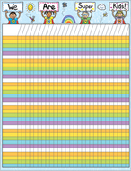 Incentive chartlet super kids  17 x 22
