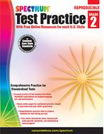 Test practice workbook gr 2