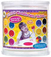 Jumbo circular washable pads craft  kit