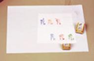 American sign language stamp set