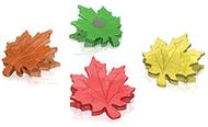 Leaf magnet clip